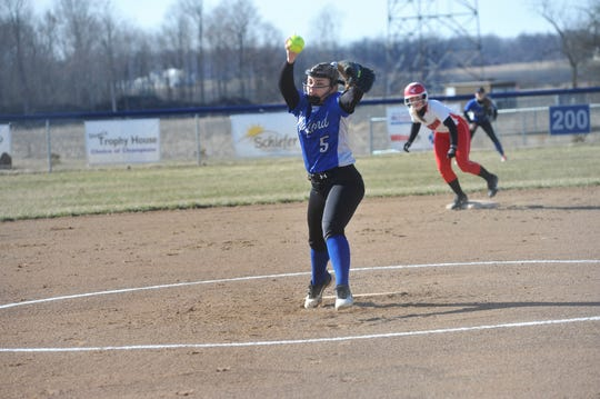 Maycie Morgan will slot into the No. 1 pitching role for the Lady Royals this upcoming season.