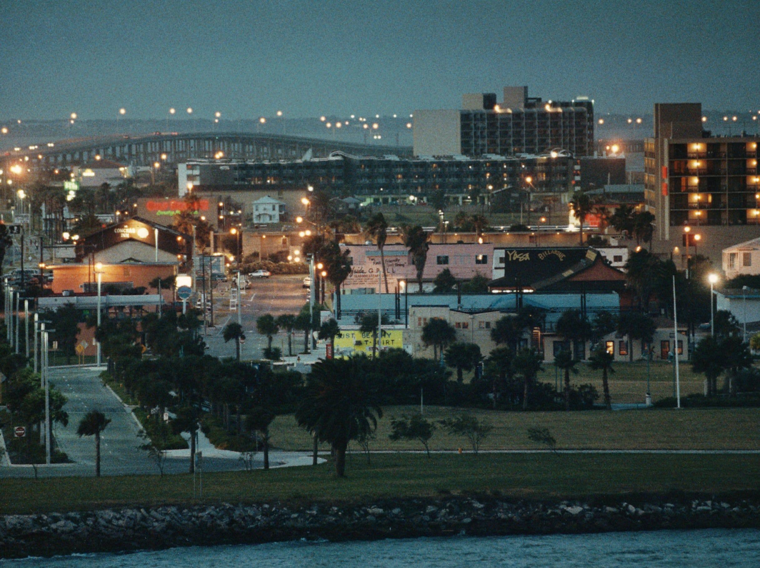 Corpus Christi's North Beach on July 14, 1993.