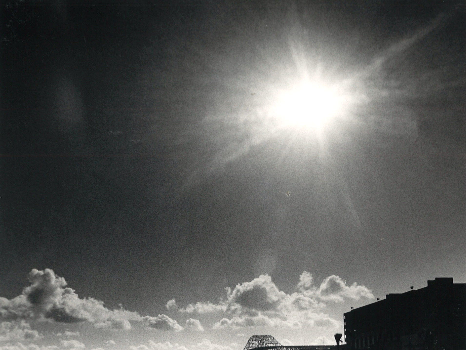Fredi Schilling of Switzerland kicks back and enjoys the warm sun on Corpus Christi's North Beach on Nov. 10, 1986.