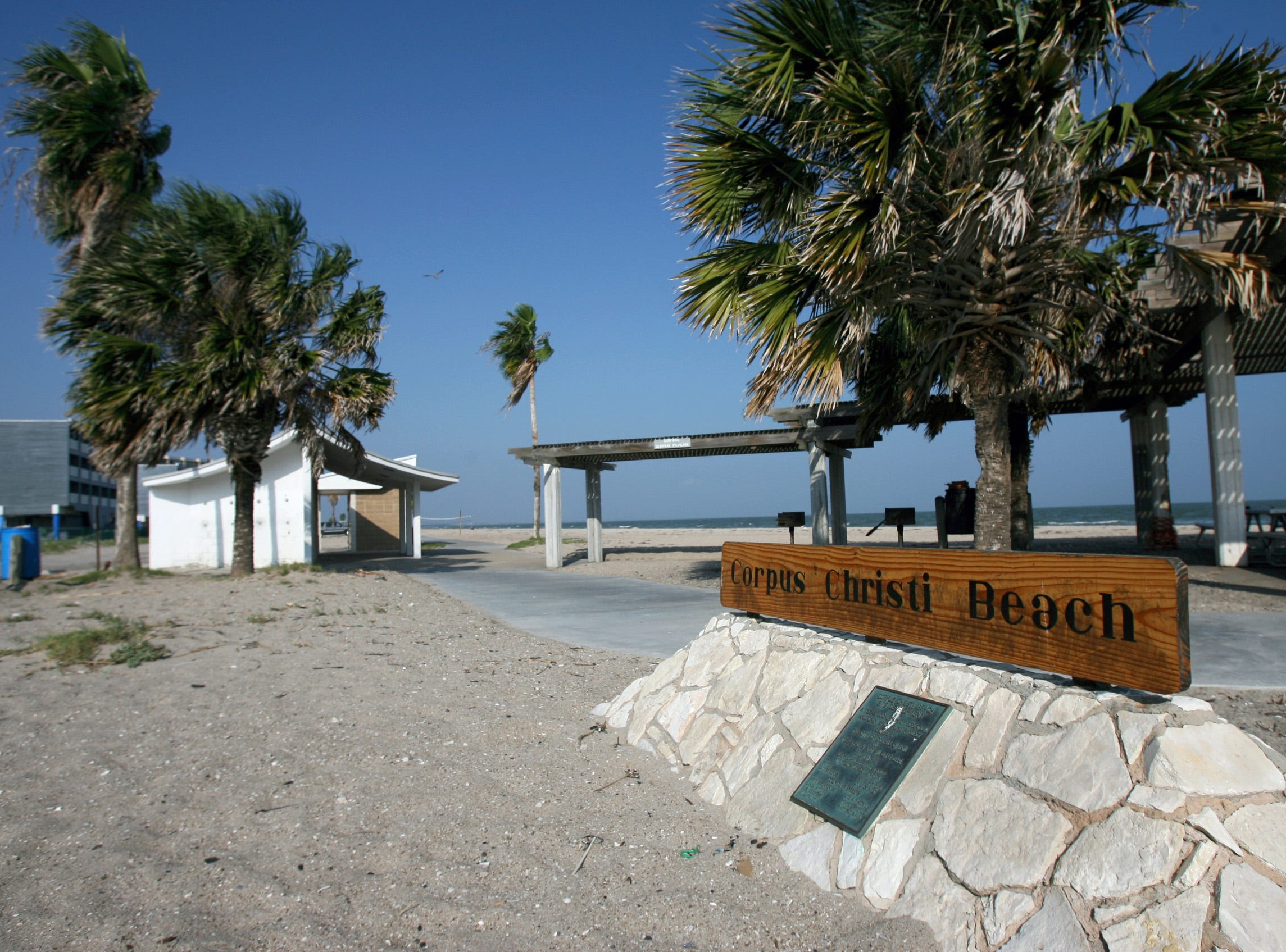 North Beach was officially named Corpus Christi Beach when this image was taken in October 2007.