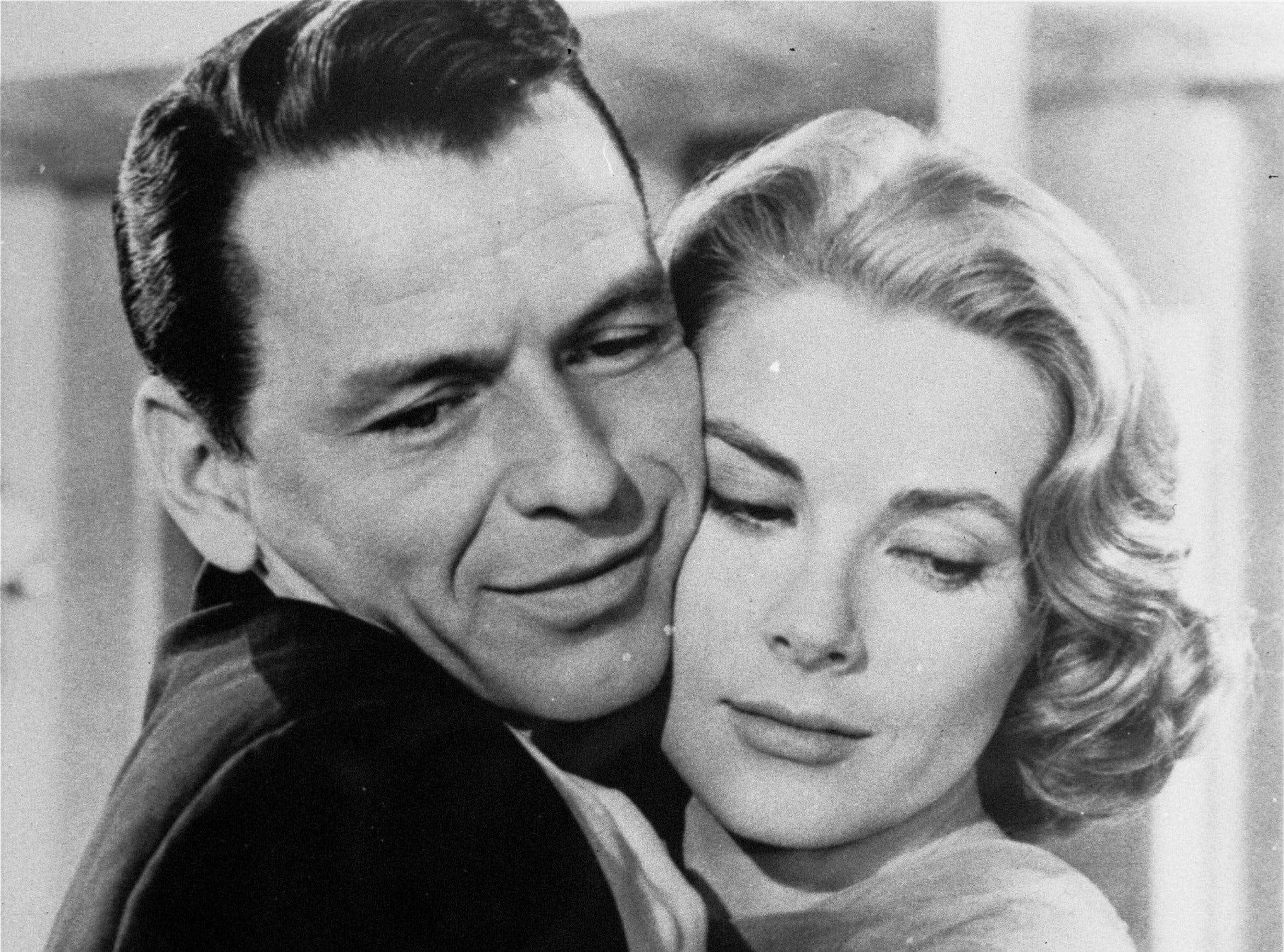 Frank Sinatra and Grace Kelly embrace in a scene from the 1956 film 'High Society.' The film is a favorite for Jonathan and Alex Chapman of Cherry Hill, and actually inspired them to honeymoon in Newport, Rhode Island, where the movie is set. Jonathan Chapman won a Turner Classic Movies contest to dedicate the movie to his wife on-air.