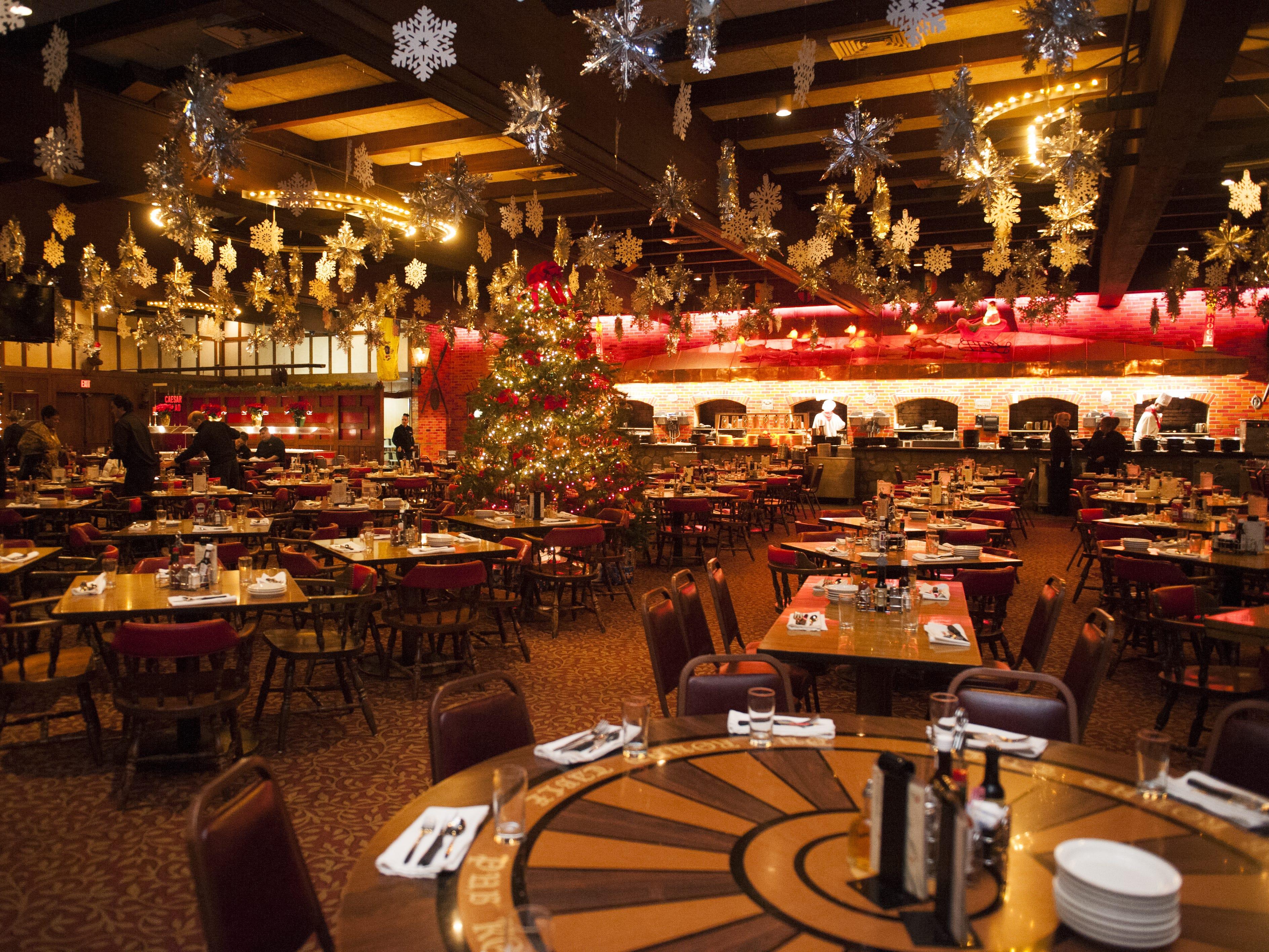 Main dining area at The Pub in Pennsauken.
