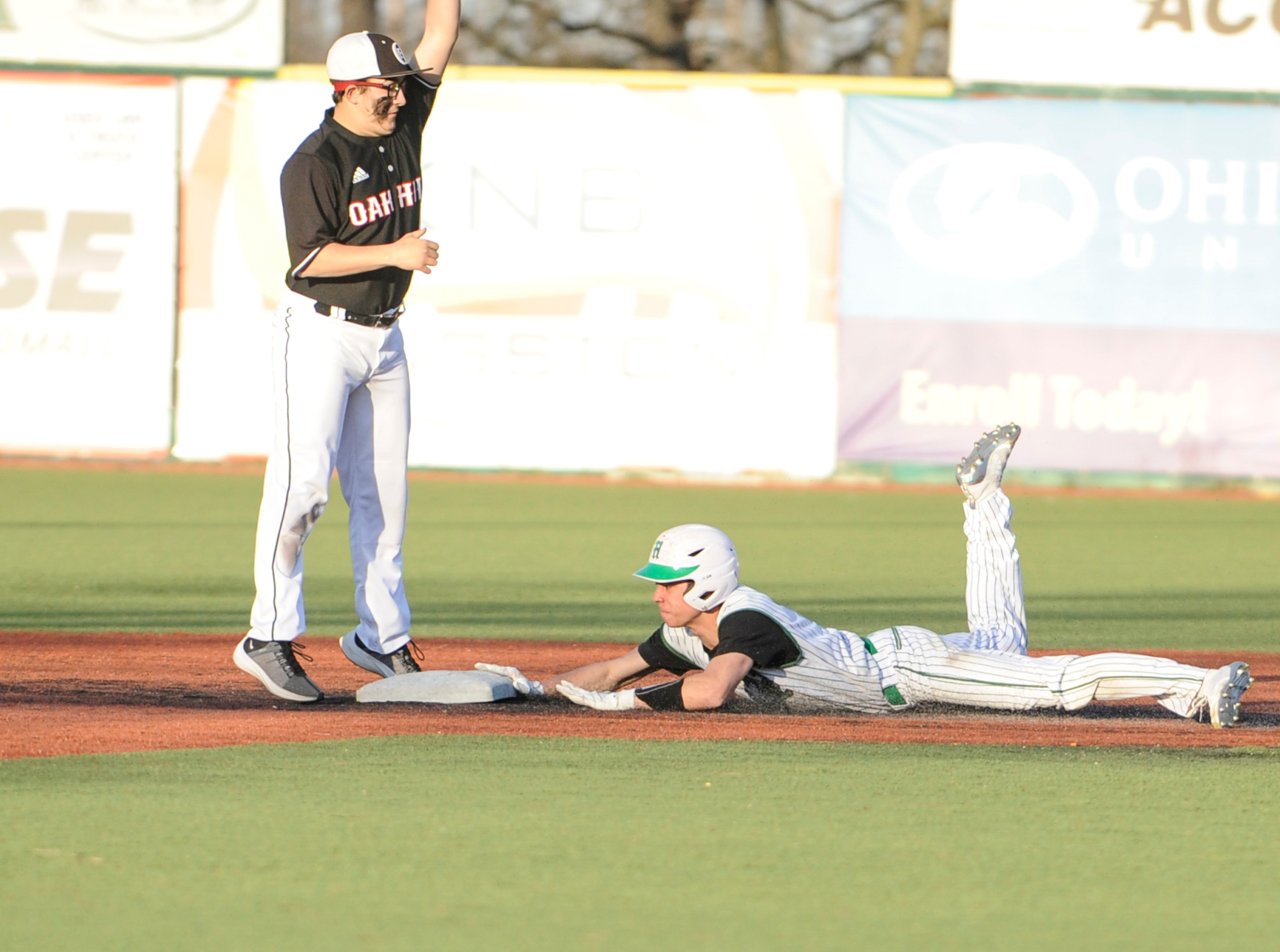 Huntington fell to Oak Hill 11-7 Tuesday night at the VA Memorial Stadium in Chillicothe, Ohio.