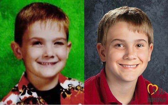 A teen found Wednesday in Newport, Kentucky, identified himself as Timmothy Pitzen. In 2011, when Timmothy was 6 years old, he disappeared after last being seen at a water park in Wisconsin. An age-progression photos shows a depiction of him as a 13-year-old.