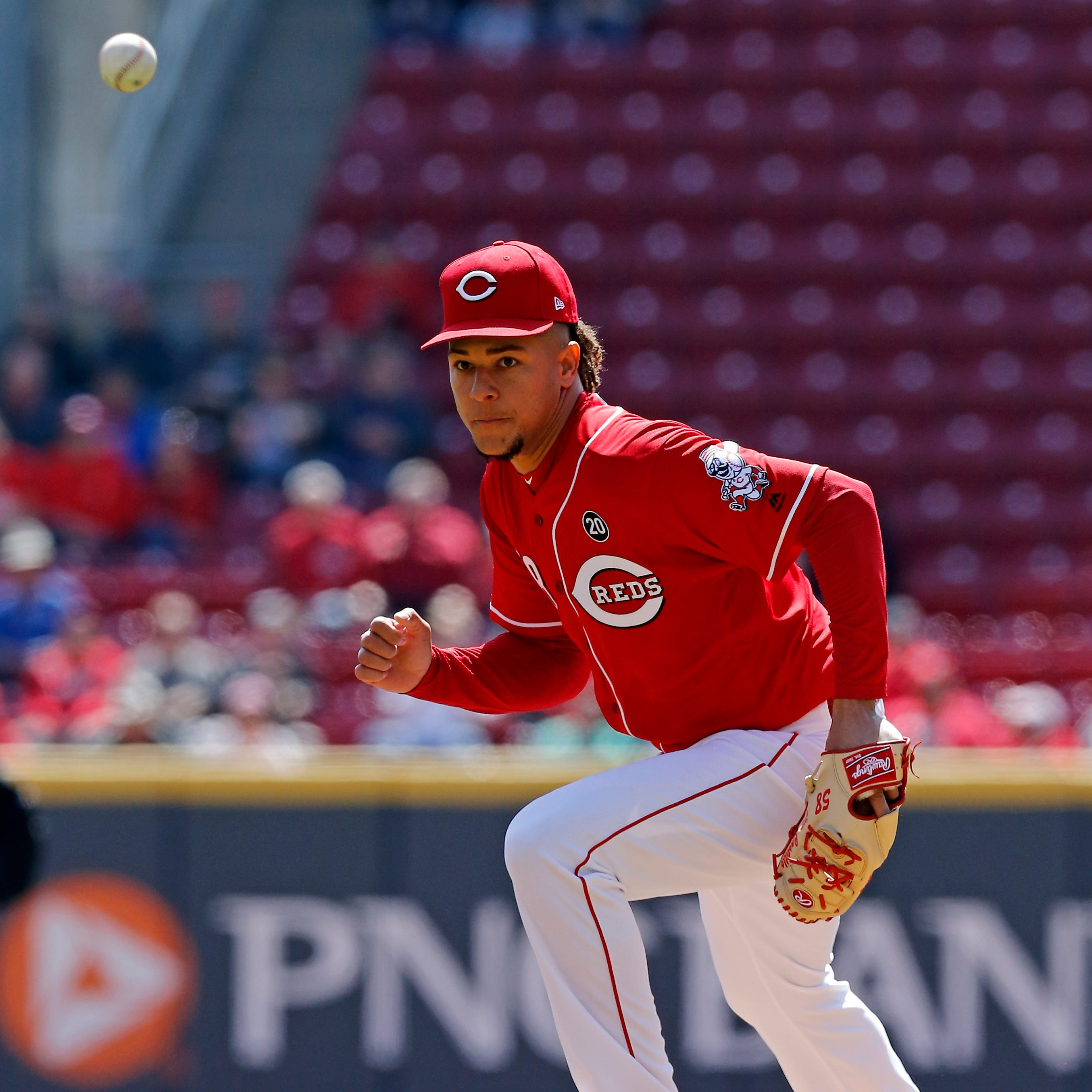 A balk comes back to bite Luis Castillo in dominant start; Cincinnati Reds swept by Brewers