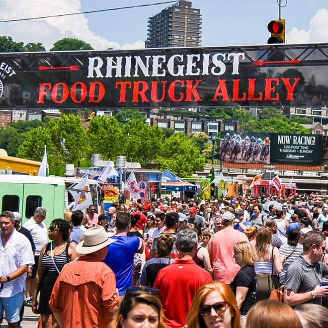 Food Truck rallies attract hungry crowds looking to enjoy a variety of food offerings.