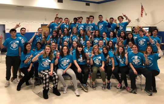 Westfield High School students along with several alumni, teachers, and community members, came together on Friday, March 22 to attend the Guy & Girl Thing, an annual event aimed at improving the mental health of students and forging connections among peers.