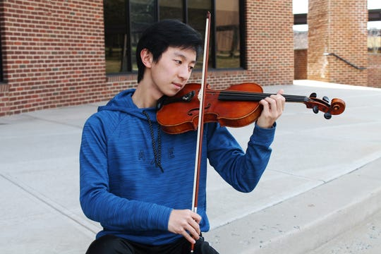 Alexander Chen, a sophomore in the Academy for Health and Medical Sciences at Somerset County Vocational & Technical High School, who was recently accepted into the 2019 New Jersey Regions Orchestra (Region II) and the New Jersey All-State Orchestra.