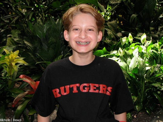 Ross Brown, visiting Disney World in Orlando in 2009 just after Ross finished his first class at Rutgers.