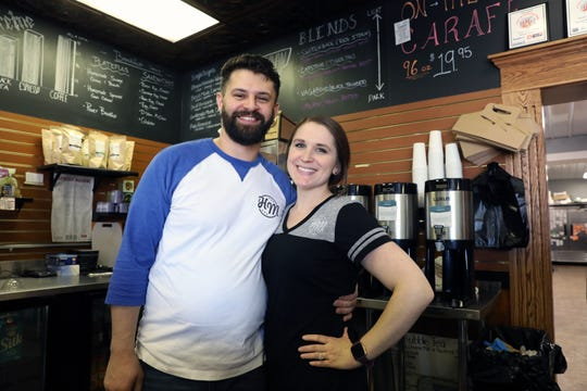 Hannah Marie Miranda and her husband Peter own Hannah Marie's Specialty Bakery & Coffee Shop in Coshocton.