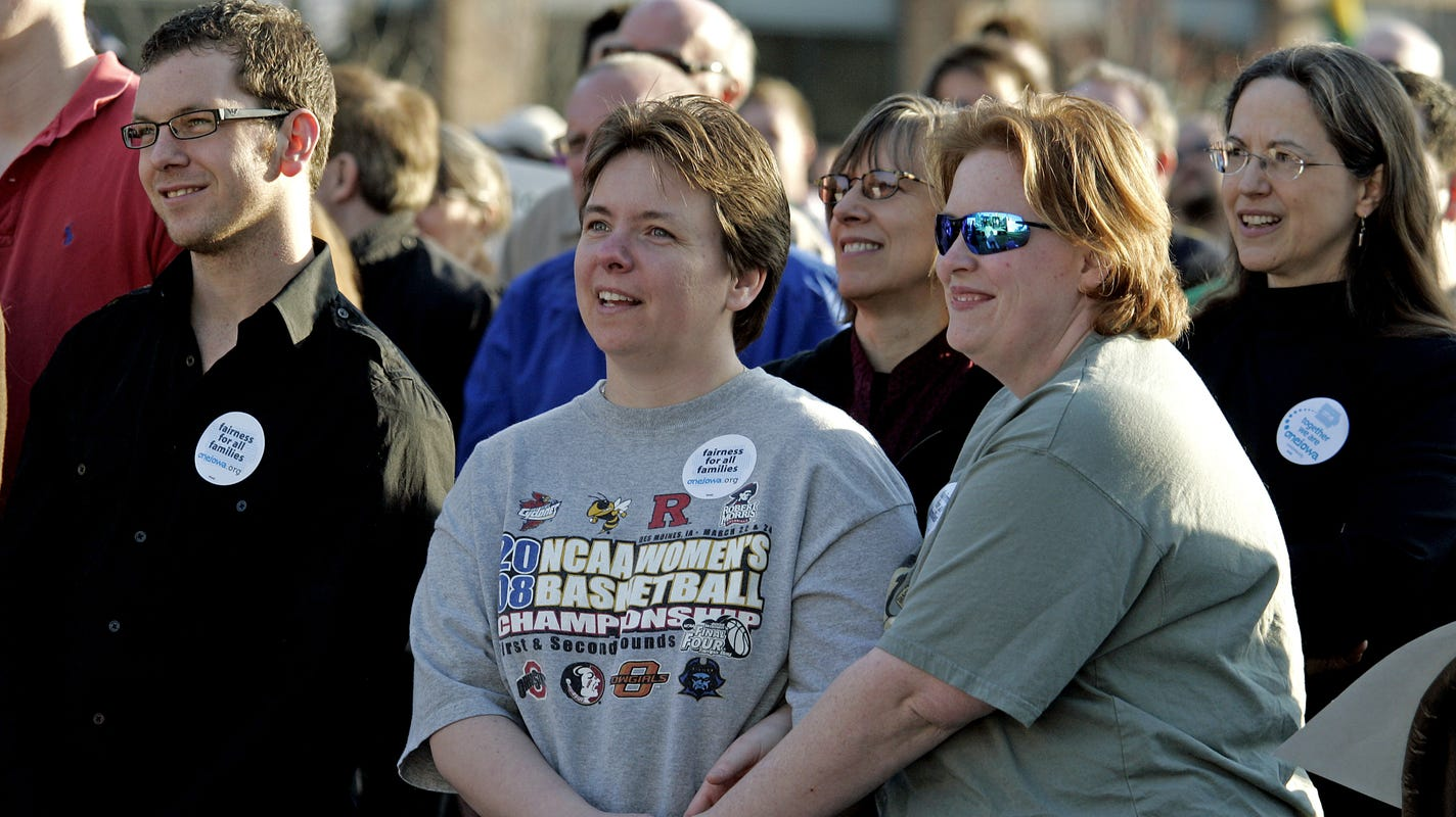 from Kamren iowa supreme court gay marriage decision