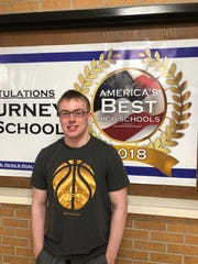 Gregory Gott, Sigourney, Top 10 Iowa, Academic All-State 2019