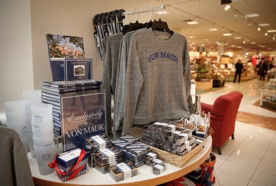 Minding the small details and staying close to their core values is a reason Von Maur department stores are doing well in a time other stores are closing, explained CEO Jim von Maur during a visit to the store at Valley West Mall in West Des Moines on Friday, March 1, 2019.