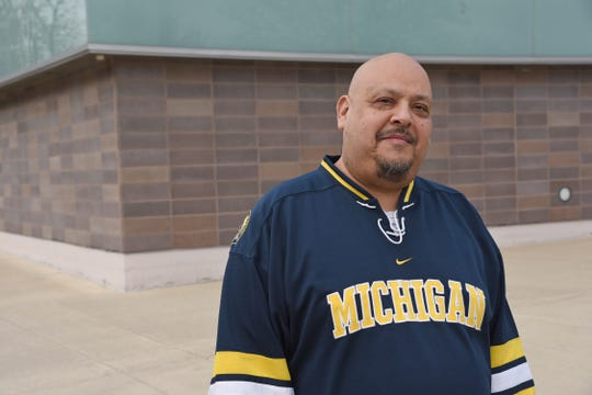 "Jose Casas, author of the new play ""Flint"" and assistant professor at the University of Michigan."