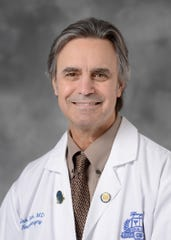 Dr. Jack Rock, a neurosurgeon at Henry Ford Health System and co-director of its Skull Base, Pituitary and Endoscopy Center.