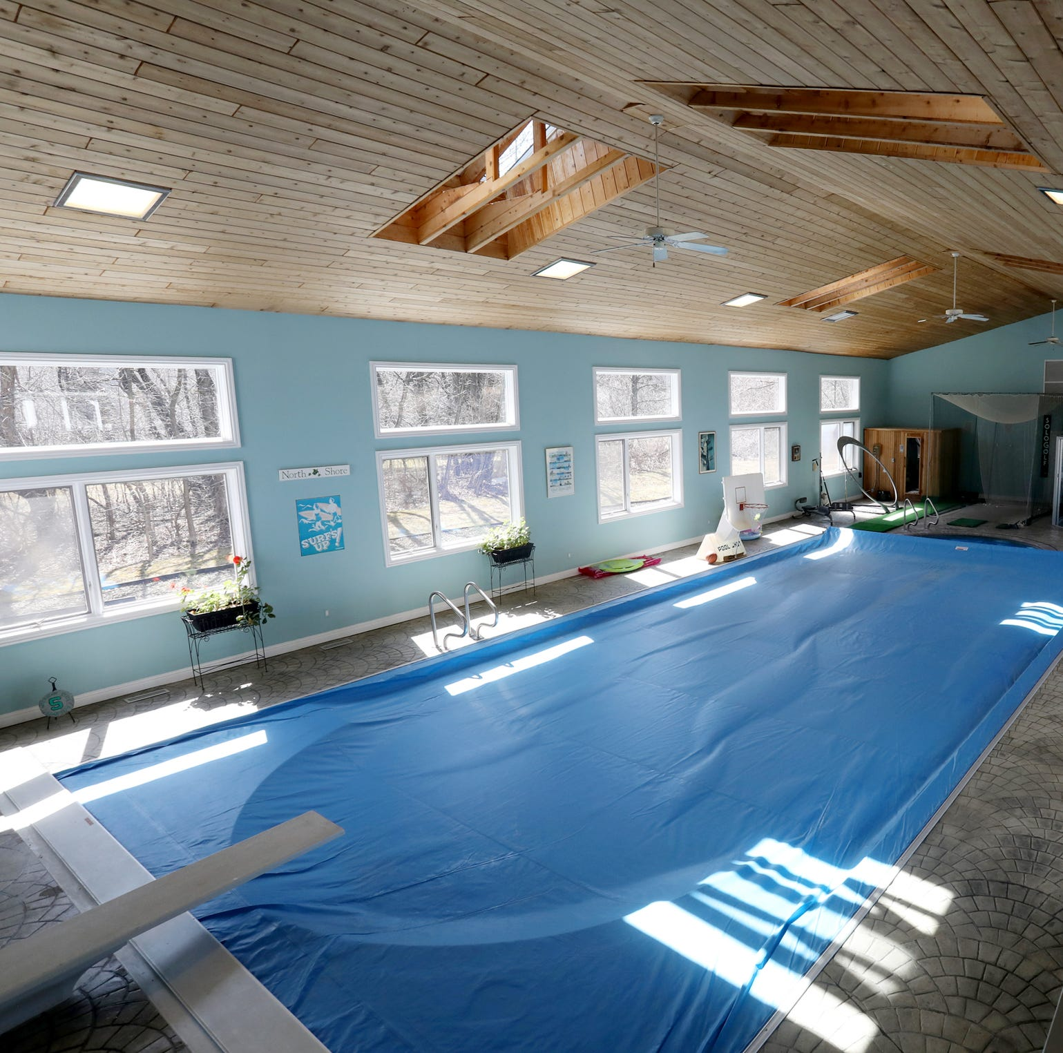 Plymouth Twp. mansion has indoor pool, locker rooms, hot tub
