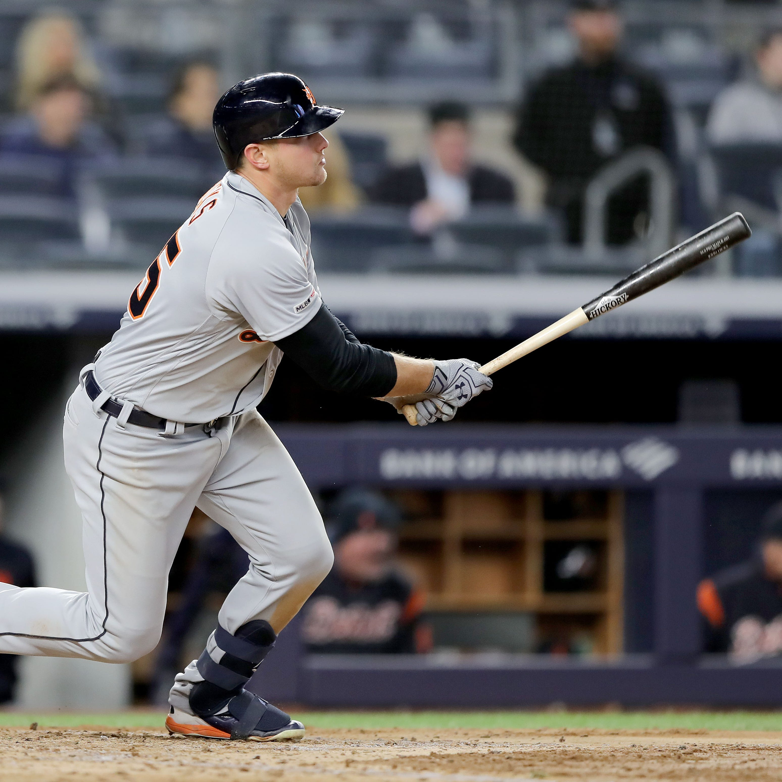 Dustin Peterson's first career hit leads Detroit Tigers past Yankees