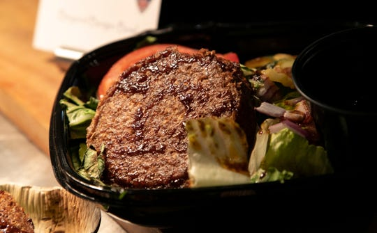 The Beyond Burger Bowl is similar to a salad.