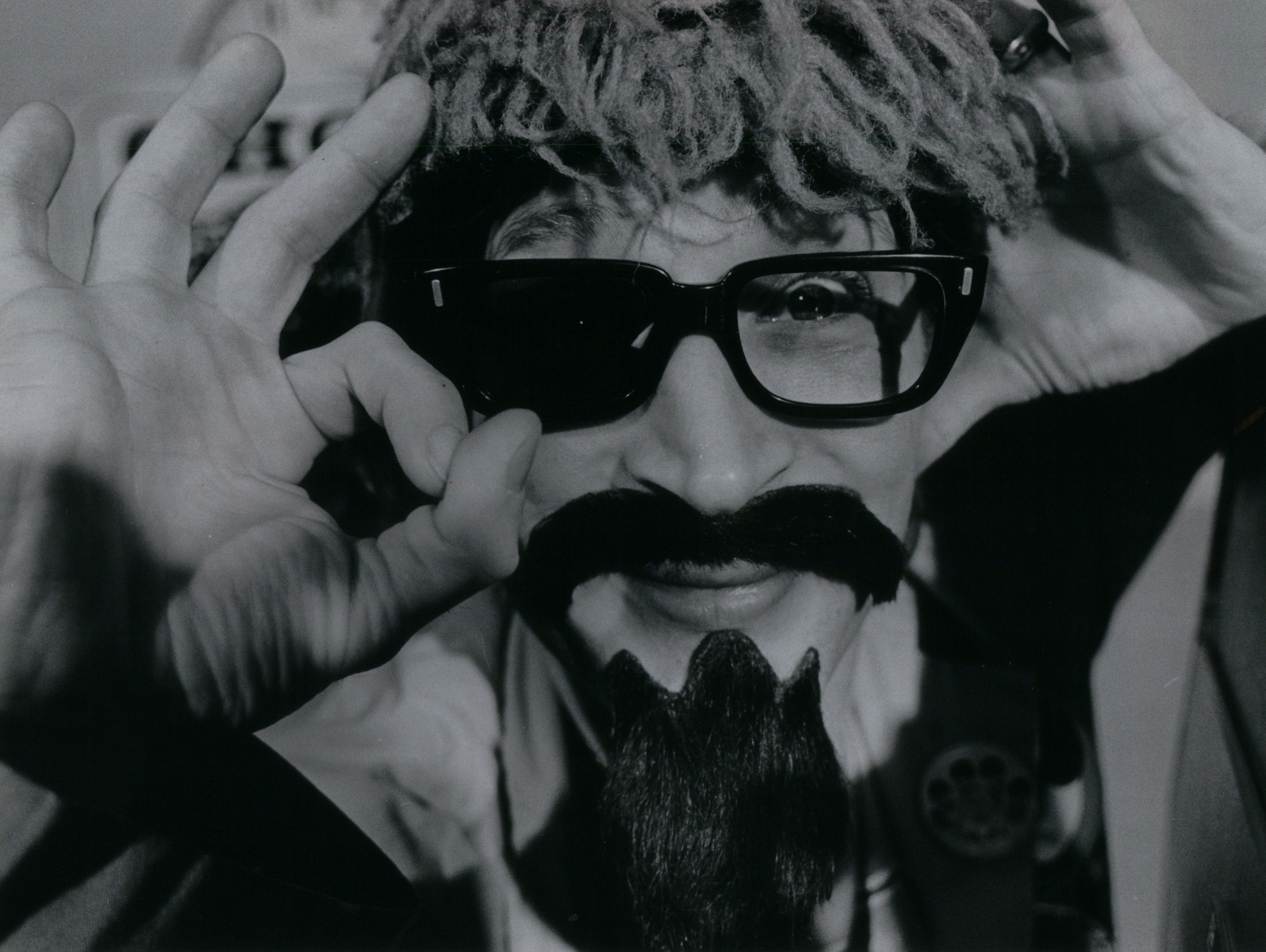 Ron Sweed made a career in bad taste.