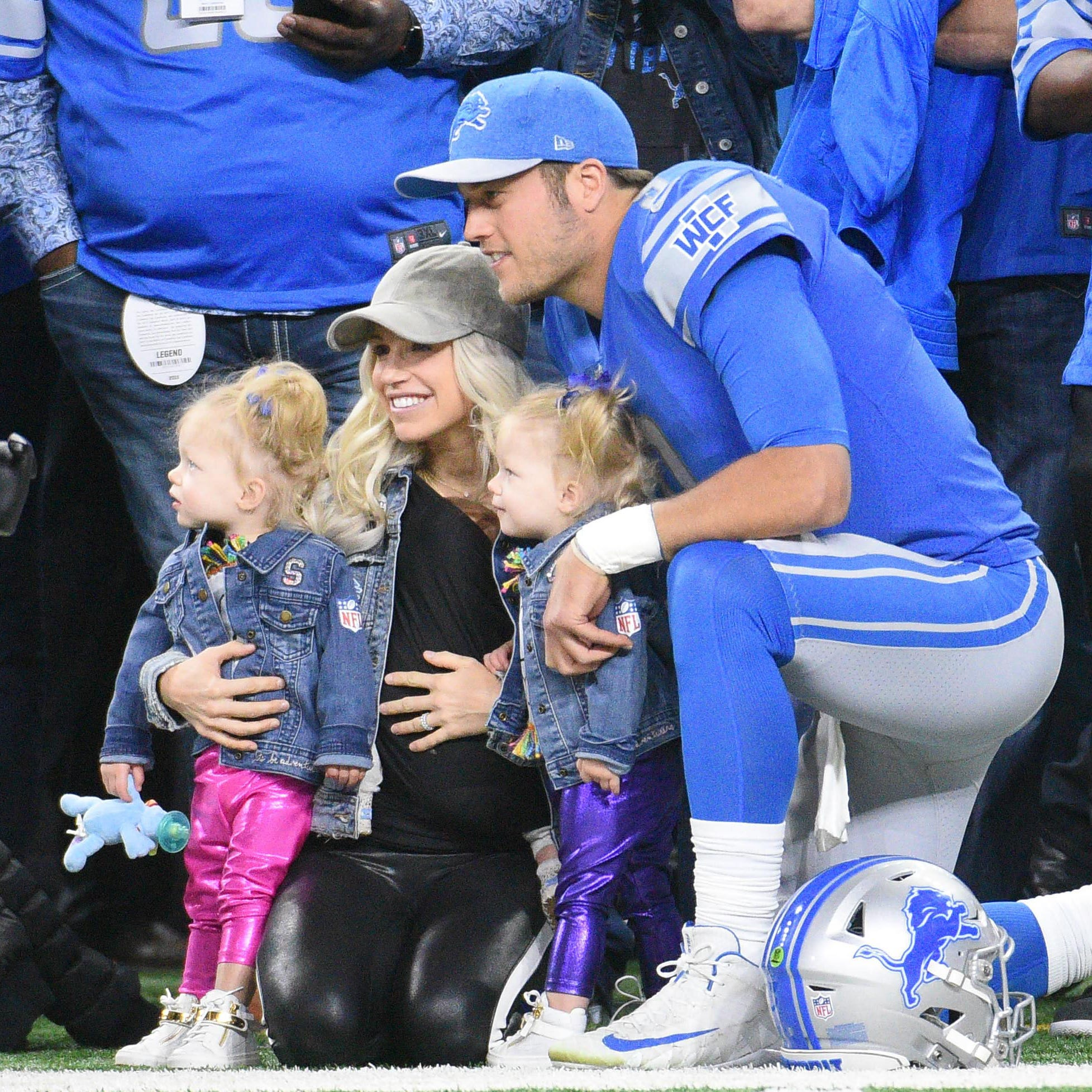 Detroit Lions' Matthew Stafford: Football a relief after trying offseason