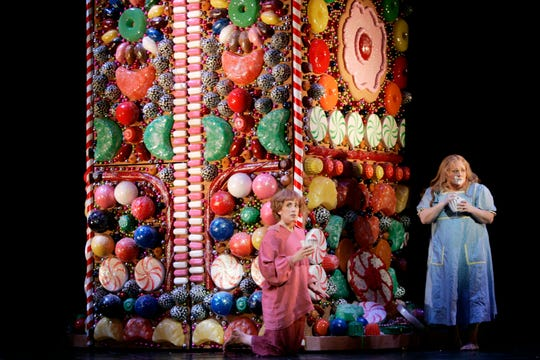 Hansel and Gretel in a 2006 Houston Grand Opera production of the opera by Engelbert Humperdink, coming to the Detroit Opera House April 6.