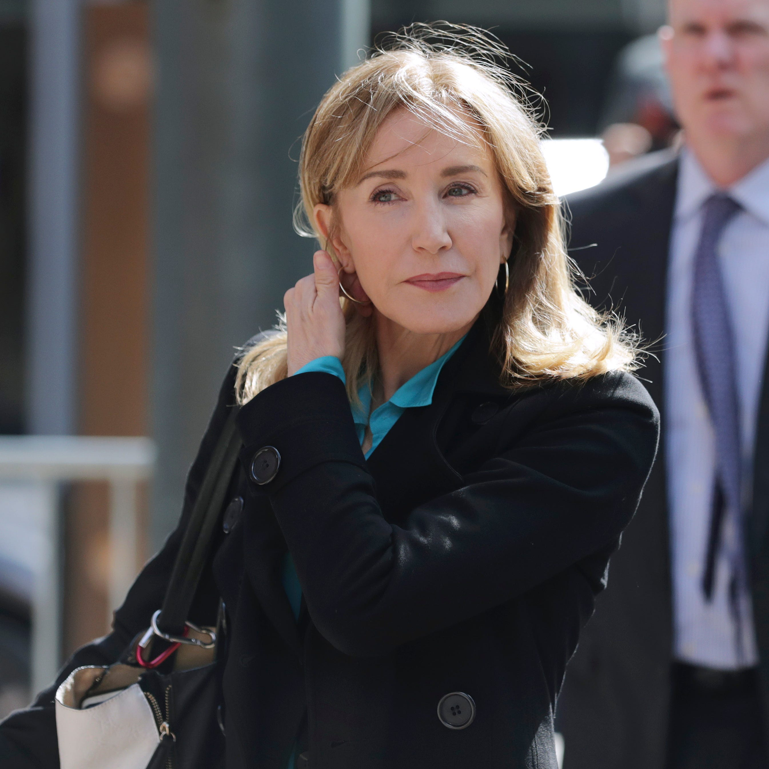 Felicity Huffman could face prison time in college admissions scam