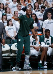Michigan State junior guard Joshua Langford is sidelined after having surgery on his left foot.