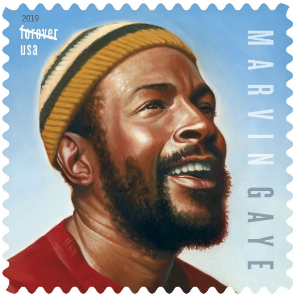 Marvin Gaye celebrated with 'Forever' stamp on 80th birthday