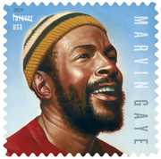 The Marvin Gaye Forever Stamp