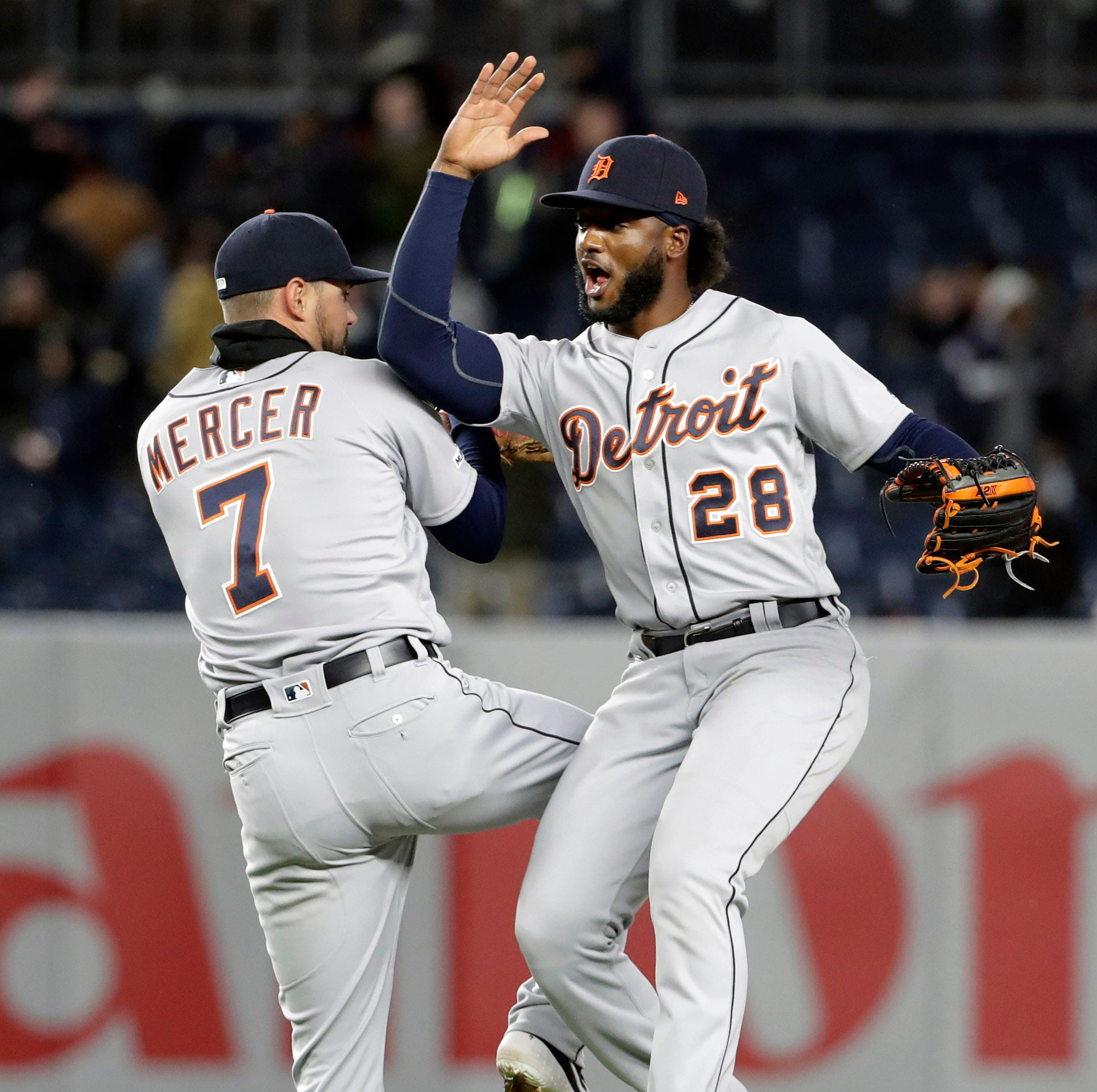 'Honestly, I blacked out': Dustin Peterson's first major-league hit helps Tigers knock off Yankees
