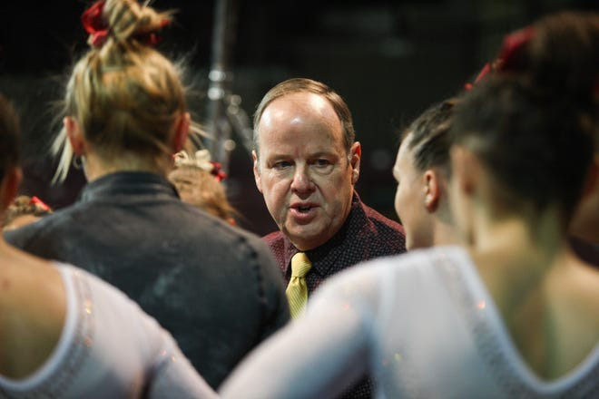 Jerry Reighard is out as Central Michigan's gymnastics coach.
