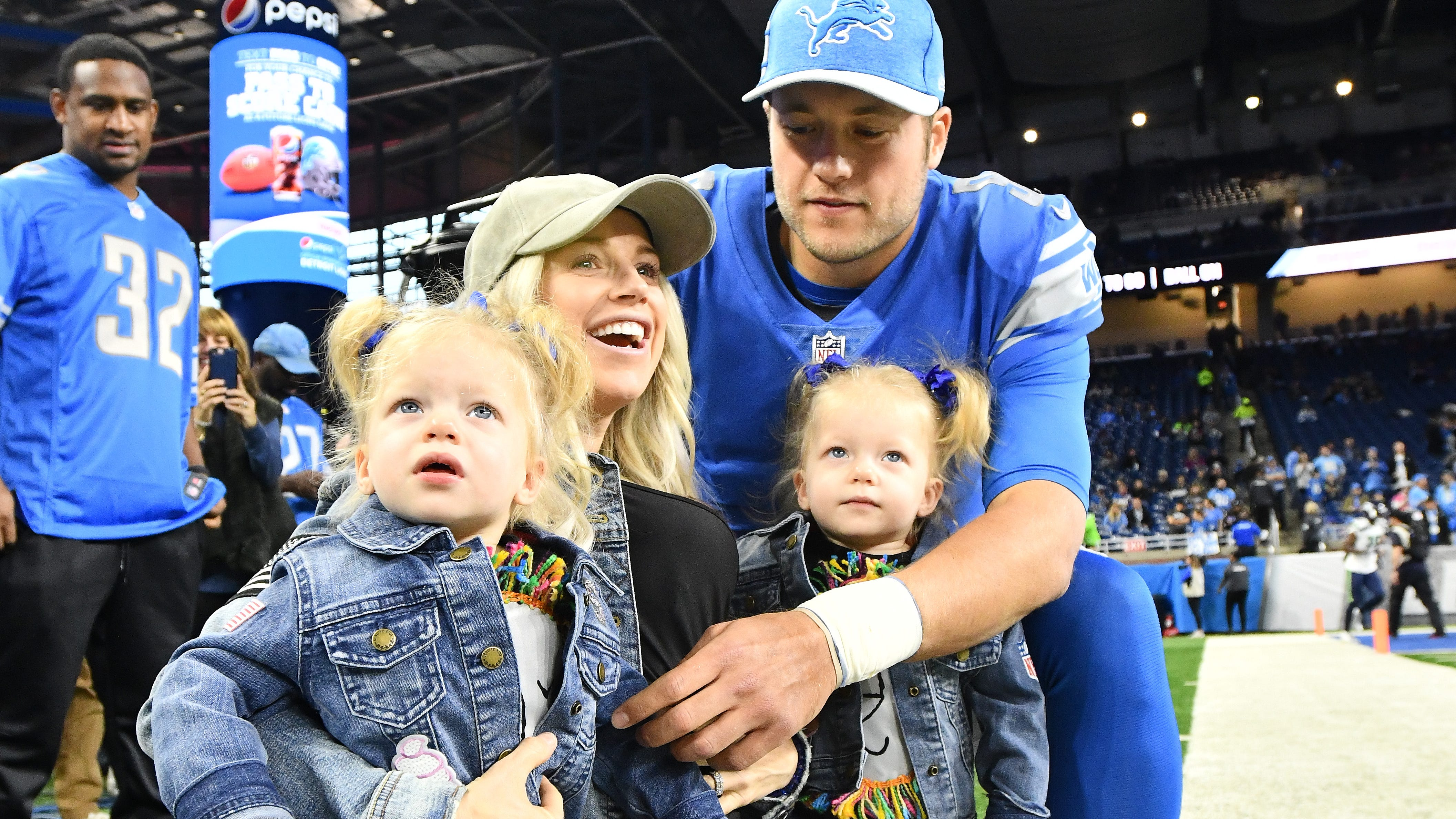 Lions not making contingency plans for QB Matthew Stafford