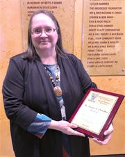 Barbara Hubbell is this year's recipient of the Chemung County Youth Bureau's prestigious Donahoe Award.