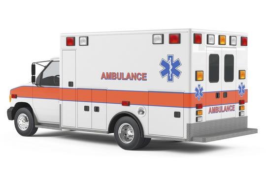 Ambulance car back