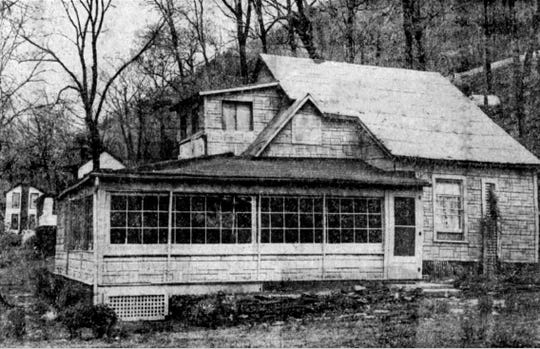 The Happy Thought Cottage in 1958.