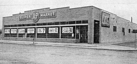 The old A&P Supermarket on Bidwell Avenue. .