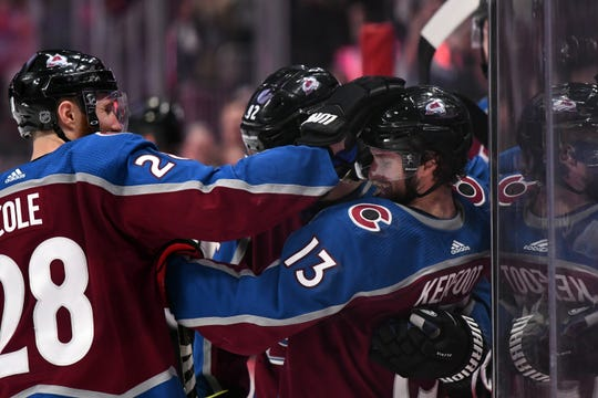 The Colorado Avalanche host Winnipeg at 7 p.m. Thursday with a chance to clinch a playoff spot.