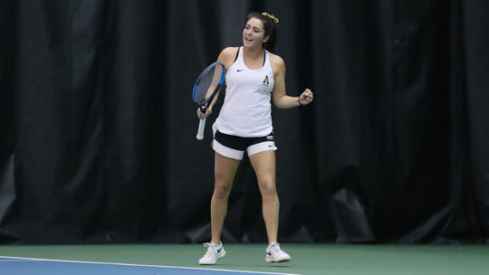 Cypress Lake alum Rebecca Morse is a senior tennis player at Appalachian State, which starts play in the Sun Belt Conference Championships on Thursday.