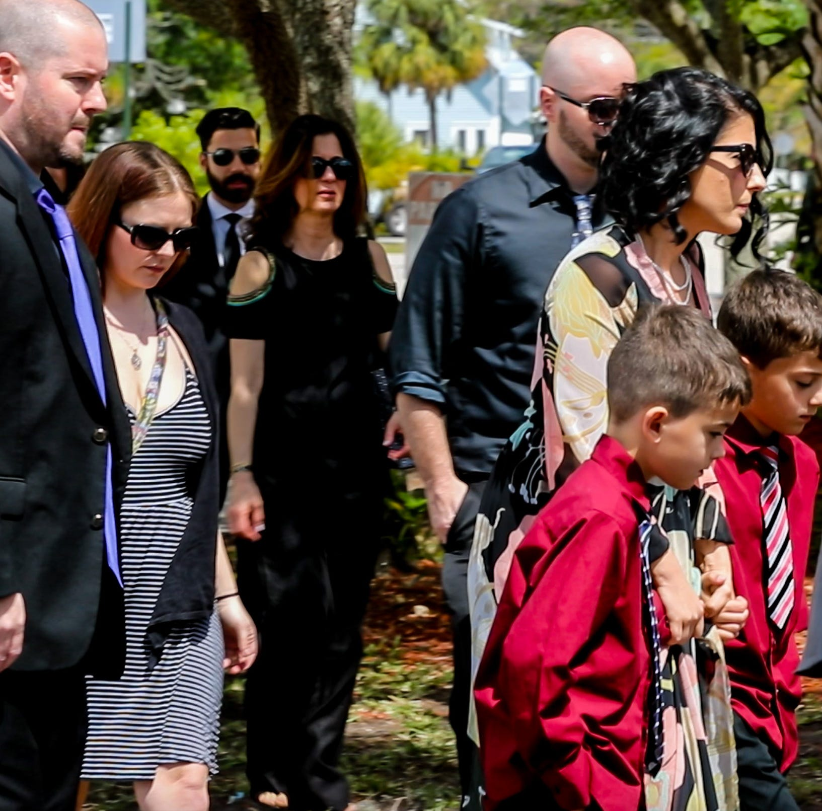Family, loved ones honor 8-year-old Layla Aiken at memorial service