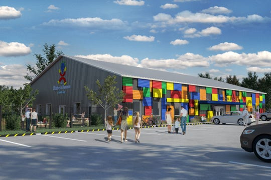 A rendering of what the Children's Museum of Green Bay's new home at 1230 Bay Beach Road will look like when completed.