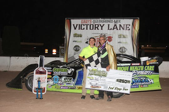 Nick Anvelink has won the Dirt Kings series the past two years — winning five series features last year.