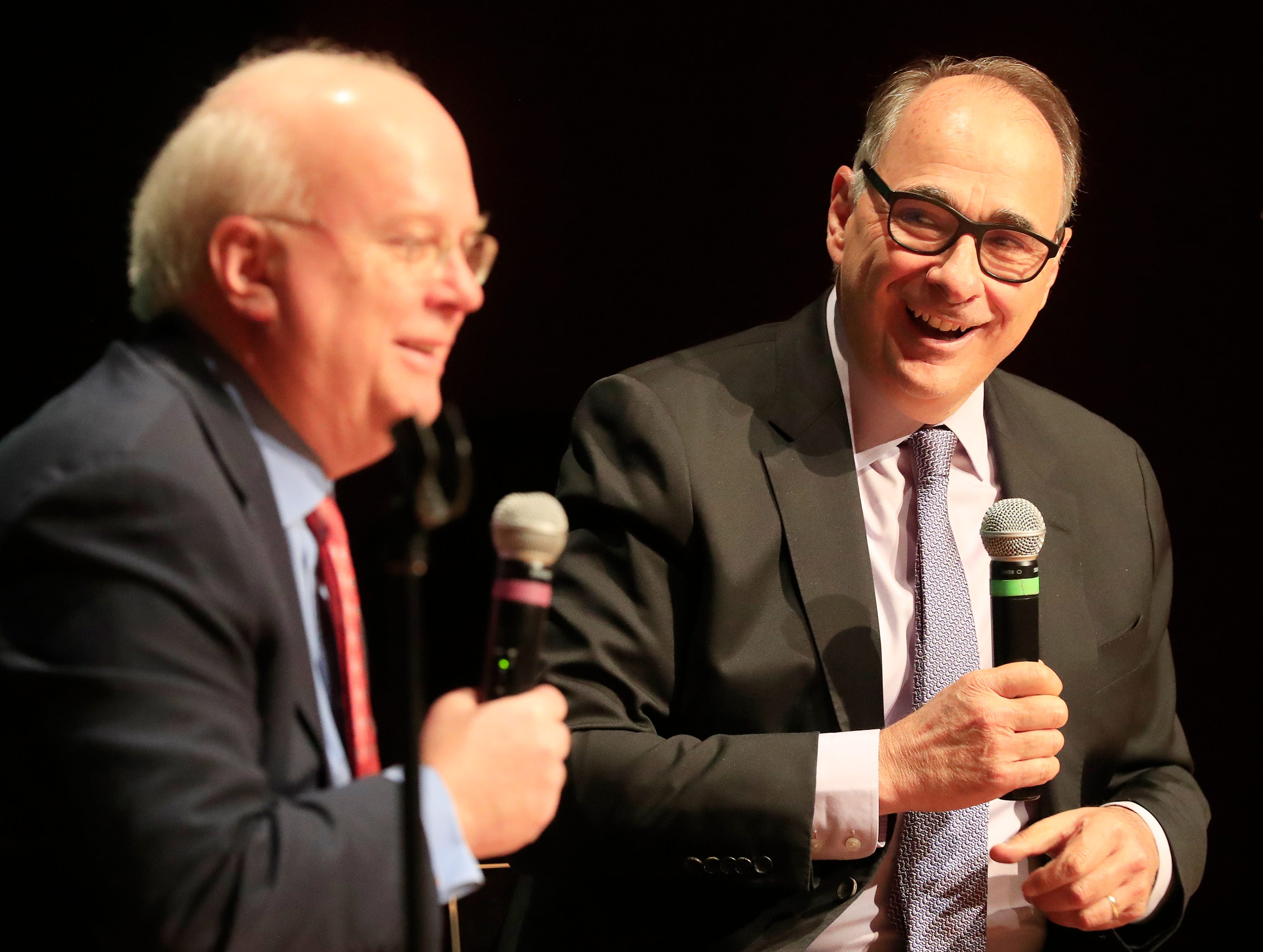 Karl Rove, David Axelrod talk politics, elections - and how to win Wisconsin