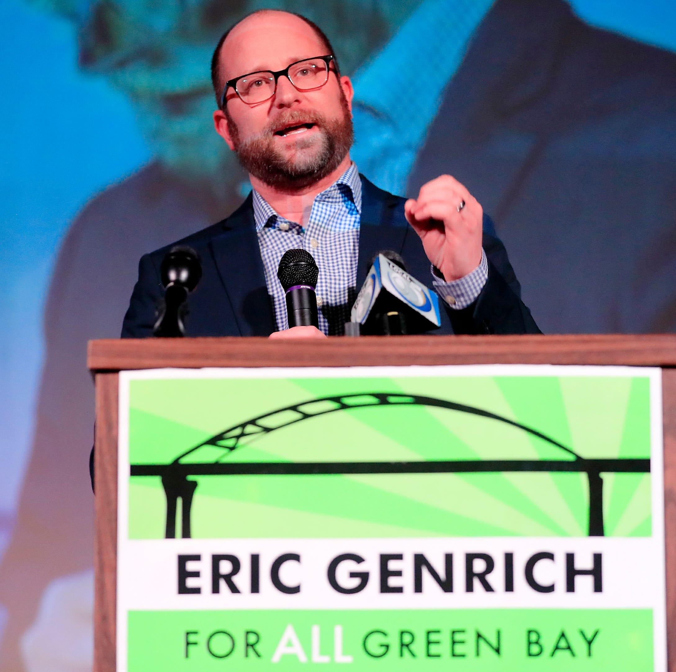 Eric Genrich defeats Patrick Buckley to become Green Bay's first new mayor in 16 years