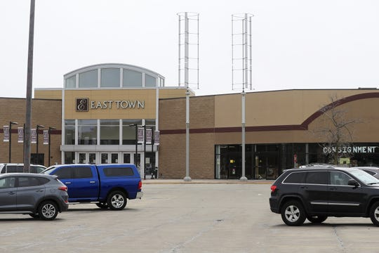 The East Town Mall on East Mason Street in Green Bay.