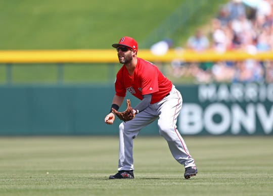 Rehabbing from a knee injury that has bothered him for two seasons, Boston Red Sox second baseman Dustin Pedroia is scheduled to begin a rehab assignment Thursday in Greenville with the Drive.