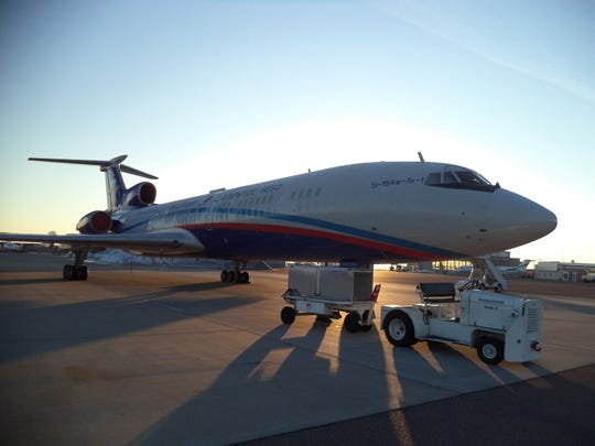 The Russians recently conducted surveillance flights of western U.S. military sites out of Great Falls as a part of the Open Skies Treaty.