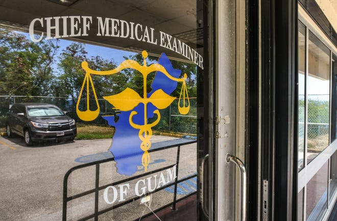 The sign at the Office of the Chief Medical Examiner's office is shown in this photo. The morgue attendant resigned effective Oct. 31, 2019 leaving the office with only one employee. PDN file photo.