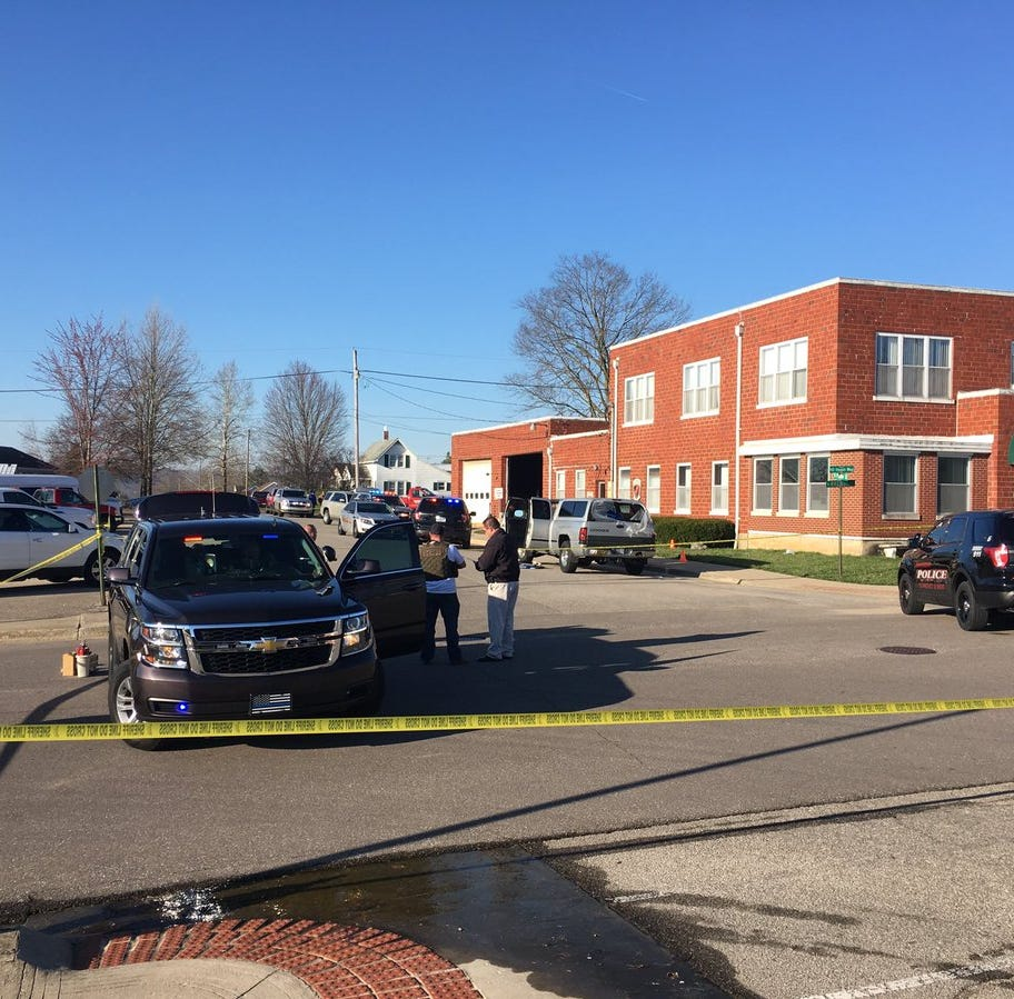 Man dies after officer-involved shooting outside Brownstown police station