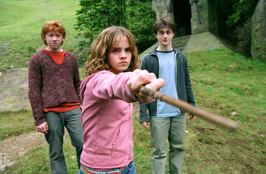 "An image from the 2004 movie ""Harry Potter and the Prisoner of Azkaban,"" adapted from the bestselling book series by J.K. Rowling."