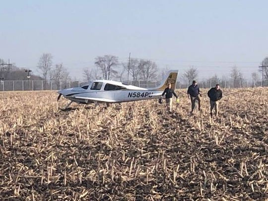A Purdue University aircraft was forced to make an emergency landing Wednesday morning after experience engine failure.